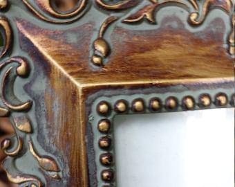 Vintage brass frame