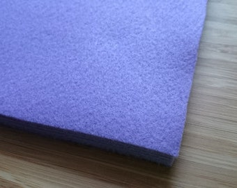 Felt - Bright Lilac - Kunin Eco Rainbow Classic Felt Made from Recycled Plastic Bottles Eco-Fi Eco Friendly Recycled Polyester