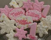 Winter Onederland Sugar Cookies