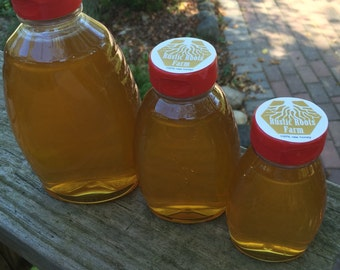 Fall Honey 1 pound (16 ounces) 100% Raw, Natural
