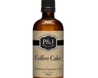 Coffee Cake Fragrance Oil - Premium Grade Scented Oil - 100ml