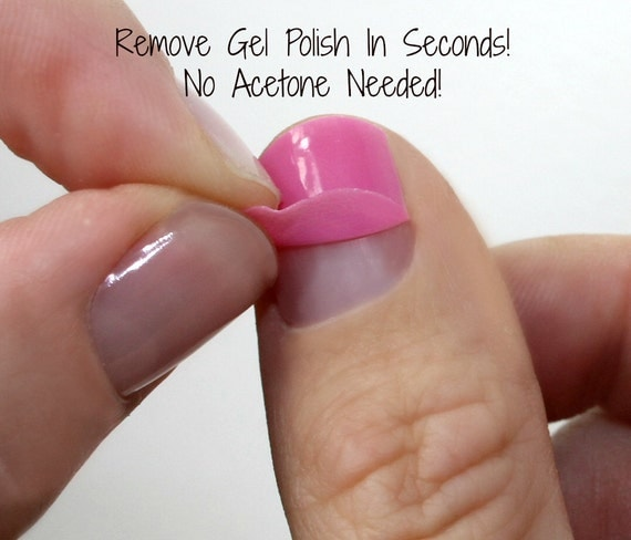 How To Take Off Gel Nail Polish At Home Without Acetone