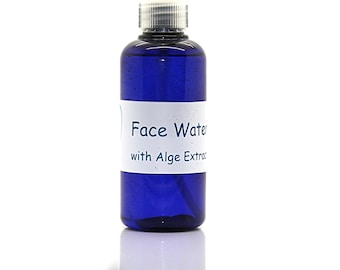 Face water with algae extract