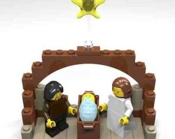 Constructibles®  Nativity Mini Build LEGO®Parts & Instructions Kit