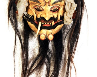 Authentic Leyak [Devil] Balinese  Mask