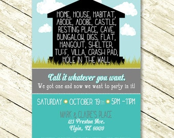 Fun Housewarming Invitation