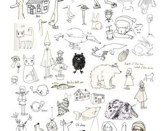 Doodles poster