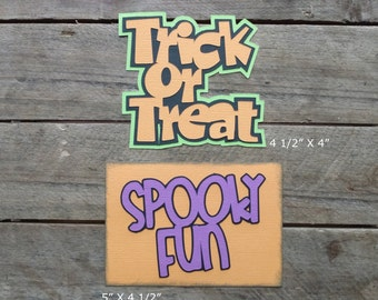 Disney Halloween Scrapbooking Titles