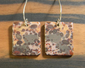 African Rhyolite Earrings