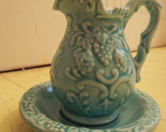 Norleans  Mini Pitcher and Dish 5""