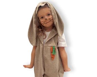 Fancy dress, carnival, costume, bunny, rabbit, children, christmas, birthday, sizes 86 - 116