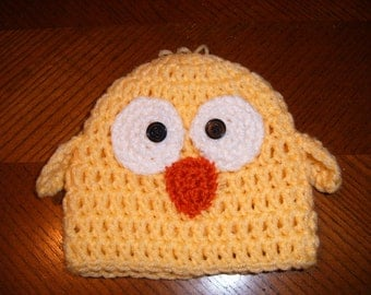 Baby Chick Hat Photo Prop