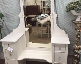 Vintage Vanity with Mirror