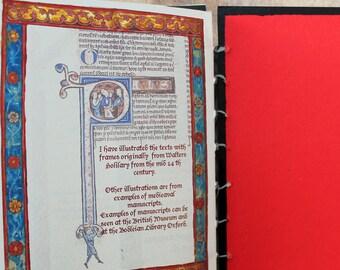 Artist book, quotation book, Book Art, handmade book, coptic stitched, handbound book, wedding gift