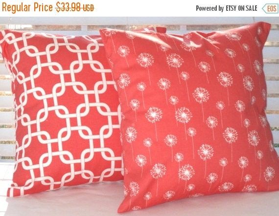 Throw Pillows In Clearance : CLEARANCE SALE Pillow Covers Decorative Pillows by PillowsByJanet