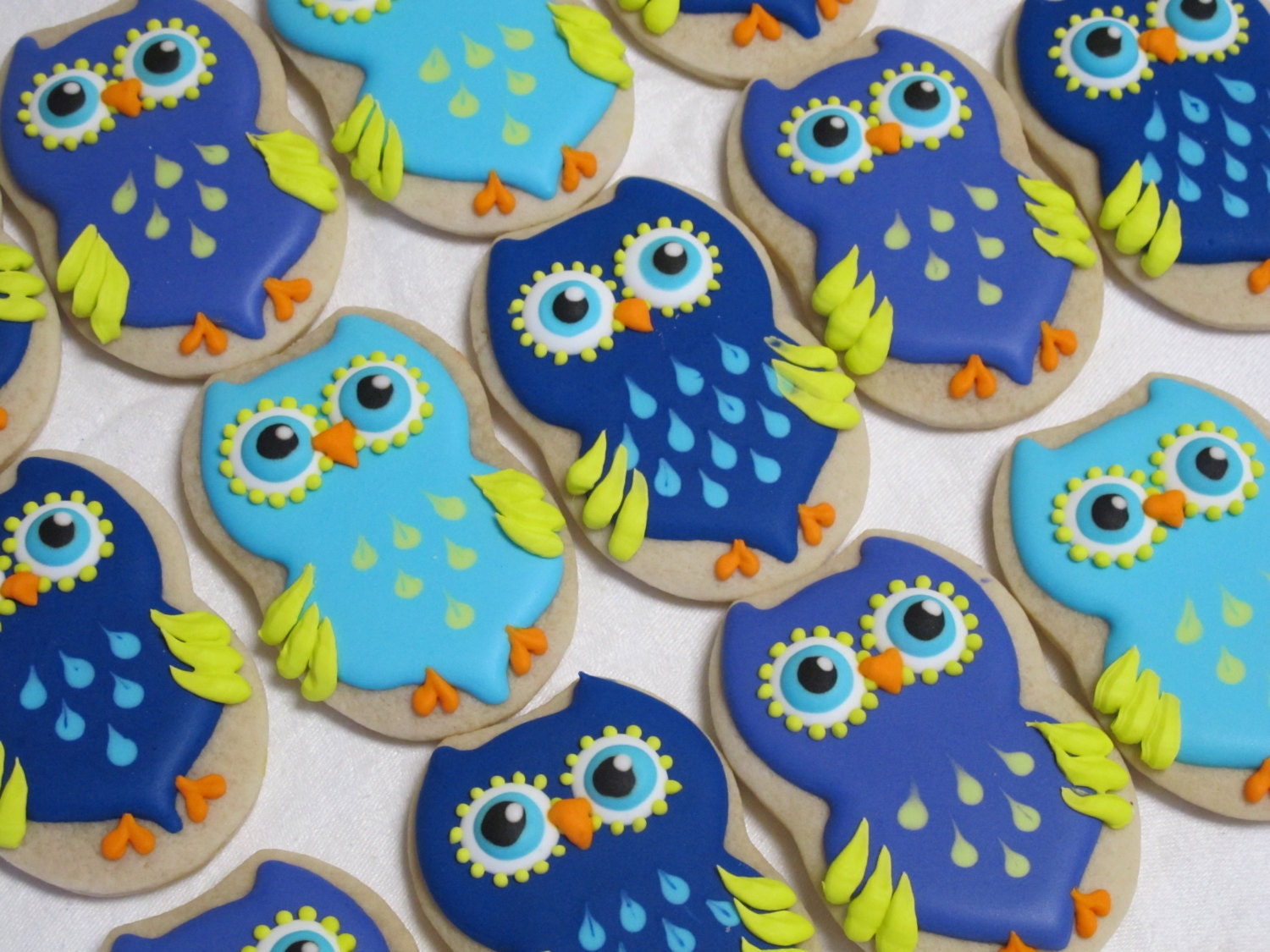 Owl Decorated Cookies Owl Cookies Decorated Sugar Cookie Favors Owl Birthday Party