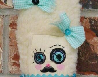 Handmade Mommies Little Monsters  Art Doll