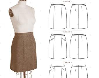 Colette Patterns Selene Skirt Pattern - Sizes 0 - 26 - 1035
