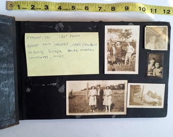 Tennessee Family Photo Album from the 1920s