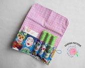 Pad & Tampon Holder Pattern, Privacy Wallet Sewing Pattern, Feminine Product Case Tutorial, Toiletry Organizer, Sanitary Pouch PDF Pattern