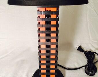 LEGO® Lamp - Black & Orange