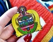 Chris Dyer Official Moksha Hat Pin