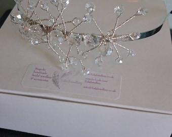 hand made bridal headband