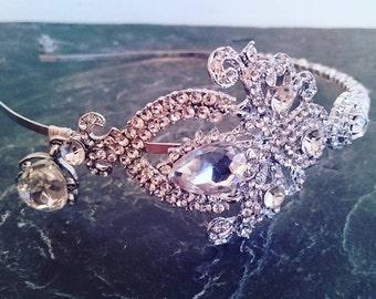 Chandelier bridal headband