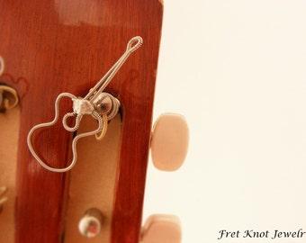 Unique Guitar Tuning Peg Jewelry - Instrument Decoration