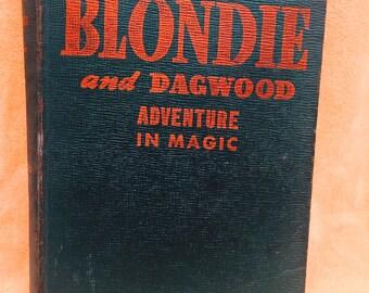 1944 Blondie and Dagwood Adventure in Magic Book