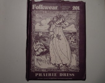 Folkwear 201 Prairie Dress Pattern