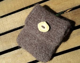 Wool Felted Pouch