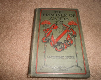 "Vintage Book:  ""The Prisoner of Zenda,"" 1905"