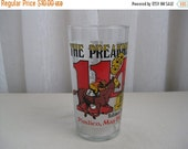 Summer Sale 20% Off Vintage 114th Preakness Stakes Mint Julep Glass Maryland 1989