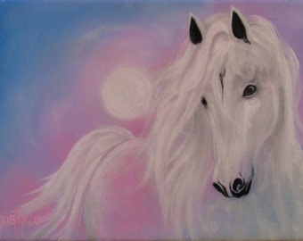 """Limited Edition Horse Art Print """"Serenity"""""""