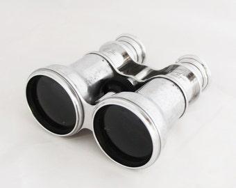 1920s Superb French Brass Binoculars Theater Glasses Opera Glasses