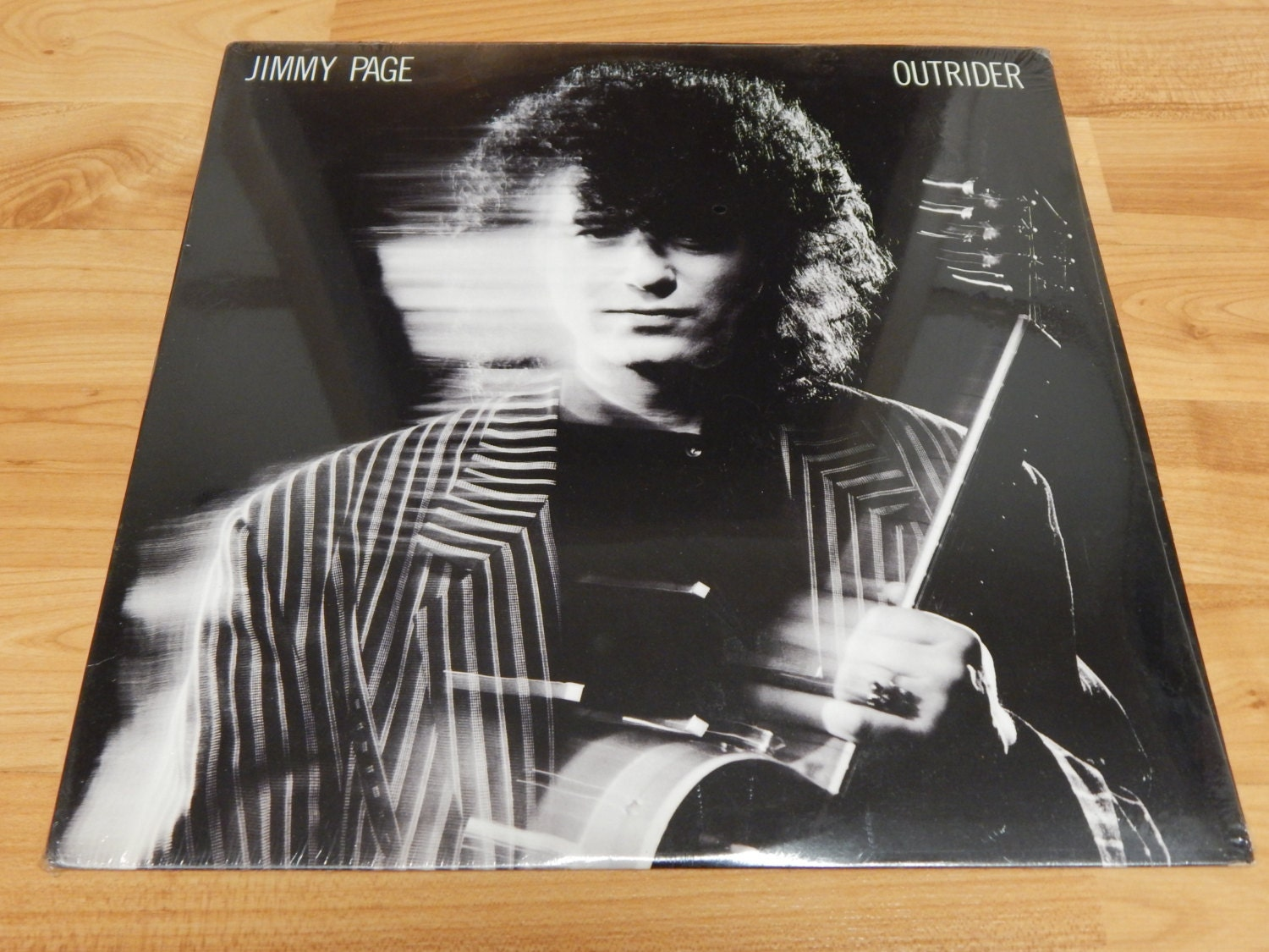 Jimmy Page Outrider Sealed Vinyl Record Lp Album Robert Plant