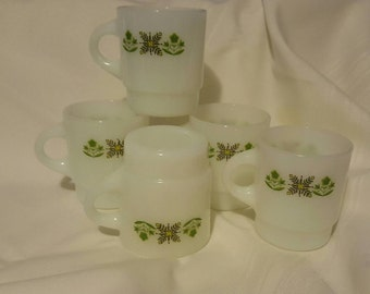 Sale Meadow Green Fireking Coffee Mugs