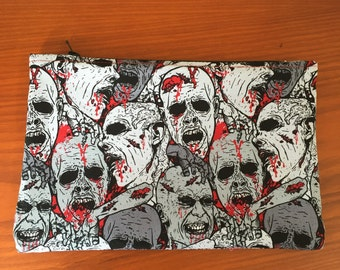 Hungry Zombies Makeup Bag, Pencil Pouch, Zipper Pouch