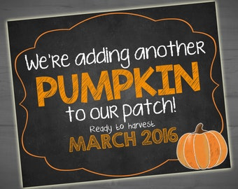 Pumpkin Patch Sign Etsy