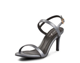 Rina Navy, Rina Strappy Heels,Nacy 3.5 Inch Platform Heels, Women's High Heel Shoes