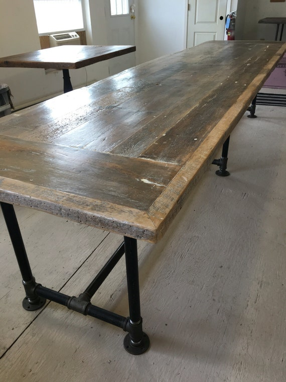 Reclaimed Wood Desk Dining Table12 Foot X3ft By