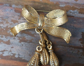Vintage bow brooch made in Austria
