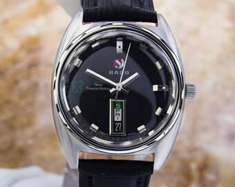 Vintage Rare RADO New Greenhorse Stainless Steel AUTOMATIC watch 68 SCX178