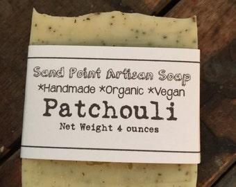 Organic Vegan Patchouli Soap