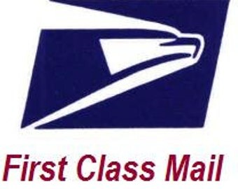 Shipping Service - USPS First Class Mail w/ Delivery Confirmation