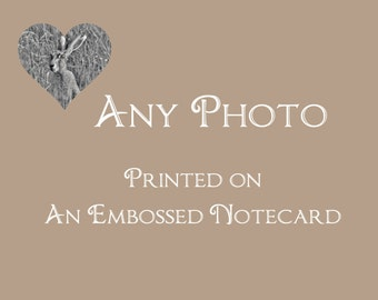 Fine Art Notecard - Any Image, Your Choice - Blank Notecard - Greeting Card - Photo Notecards - Stationery