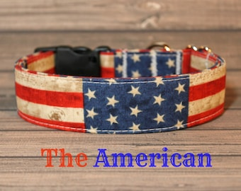 "Red, White & Blue with Stars ""The American"""
