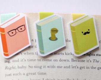 Bookish Mini Magnetic Bookmarks (Mini 3 Pack)