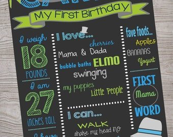 Little Man Mustache Chalkboard Sign birthday party baby shower. printable. digital download